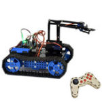 New DIY Arduino STEAM Programmable Smart RC Robot Car Arm Tank Educational Kit