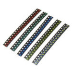 New 1000Pcs 5 Colors 200 Each 0805 LED Diode Assortment SMD LED Diode Kit Green/RED/White/Blue/Yellow