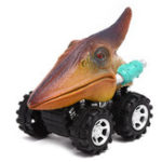 New 1/6X Dinosaur Cars Pull Back Vehicle Set Mini Animal Car Boys Novelties Toys Birthday Gift