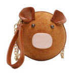 New Women Cute Pig Crossbody Bag Chic Casual Clutch Bag