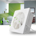 New 30W 8 inch Entilation Exhaust Fan Blower Window Wall Kitchen Bathroom Toilet Ventilation Fan