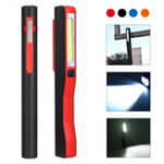 New 3W COB +1W LED USB Magnetic Work Light Outdoor Camping Emergency Flashlight Night Inspection Lamp