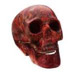 New Halloween Human Skeleton Head Horror Scary Gothic Skull Prop Home Party Decorations