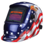 New Solar Power Automatic Dimming Welding Helmet Mask Adjustable Head Band