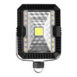 New 5W USB Solar LED Camping Lantern Floodlight Work Light 3 Modes Outdoor Emergency Lamp  IP65 Waterproof