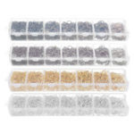 New Jewelry Findings Making Starter Kit Beading Repair Tools Kit Pliers Silver Beads Wire