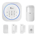 New Digoo DG-MAS1 New 433MHz Wireless GSM DIY Home Alarm System Kits IOS&Android APP Intercom Siren