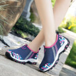 New Casual Mesh Breathable Walking Sneakers
