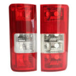 New Car Rear Tail Light Cover Backup Lamp Lens Shell Red Pair for Ford Transit Connect 2002-2009