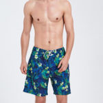 New Beach Printing Loose Quickly Dry Sport Casual Boxers Shorts