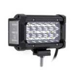 New 6Inch LED Side Shooter Work Light Tri Row 54W 3400LM 6000K for Off Road Truck SUV Motorcycle