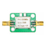 New 0.1-2000MHz RF Amplifier Wideband High Gain 30dB Low Noise Amplifier LNA Broadband Module Receiver