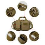 New Men Outdoor Canvas Multi-function Crossbody Bag