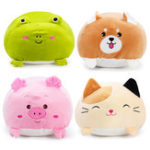 New 60CM Chubby Cute Soft Kawaii Animal Kid Stuffed Plush Toys Pillow Cartoon Cushion