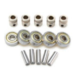 New 5Pcs Multi Materials2.0 Extruder Gears + 625ZZ Bearings with Shafts Kit for Prusa i3 MK2.5/MK3 3D Printer Part