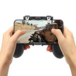 New H1 Gamepad Game Controller Fire Trigger Shooter Button for PUBG Mobile Game for Phone