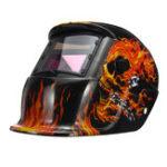 New Pro Solar Auto Darkening Welding Helmet Tig Skull Grinding Visor Mask Protective