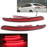 New LED Rear Bumper Reflector Light Warn Tail Brake Lamp for Ford Mondeo Fusion 2011-2012