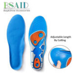 New Silicon Gel Insoles High Quality Foot Care for Plantar Heel