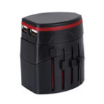 New Global Universal Conversion Plug Adapter Multi-function Conversion Socket USB Charger