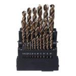 New Drillpro M42 HSS Twist Drill Bit Set 3 Edge Head 8% High Cobalt Drill Bit for Stainless Steel Wood Metal Drilling