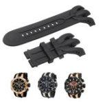New KALOAD Black Watch Band Silicone Rubber Strap Replacement For Invicta Venom Chronograph Reserve
