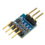 New 5pcs Serial Level Conversion Module Compatible With 3.3V/ 5V Serial Port TTL Level Mutual Conversion