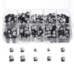 New 200Pcs 10 Values SMD Electrolytic Capacitor Assorted Kit 10V~50V 1uF~470uF With Storage Box