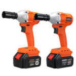 New 128VF/168VF Brushless Cordless Impact Wrench Socket LED Light Electric Wrench Power Tool