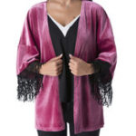 New Women Casual Long Sleeve Tassels Cardigans Outwear