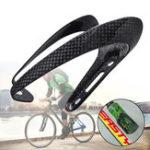 New BIKIGHT Ultralight 3K/UD Full Carbon Fiber Cycling Bicycle Bike Water Bottle Cages Bike Holder Rack