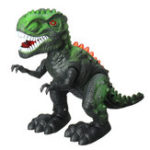 New Electronic Dinosaur Walking Mighty Robot Roaring Interactive Dino Kids Toys Pet Robot