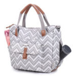 New Brenice Women Multifunction Bag Wave Pattern Crossbody Bag