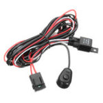 New Wiring Harness Kit with Relay On-Off Control Switch 12V 40A 2M for LED DRL Daytime Running Light Bar