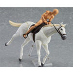 New Figma Action Figure Horse Model Toy Simulated Animal 11cm Gift Collection Decor