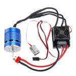 New S540 22200kv Brushless Motor+Hobbywing Waterproof Brushless 60A ESC For 2-3s 1/10 Crawler RC Car
