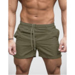 New Men Breathable Swimming Shorts