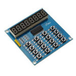 New TM1638 3-Wire 16 Keys 8 Bits Keyboard Buttons Display Module Digital Tube Board Scan And Key LED For Arduino