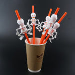 New Halloween Pumpkin Straw Ghost Straws Halloween Decoration Straws Halloween Party Supplies Halloween Decorations