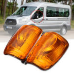 New Car Door Wing Mirror Indicator Lamp Turn Signal Lights for Ford Transit MK8 2014 Onwards