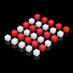 New 30Pcs/Lot 1cm Solid Small Cubes Primary School Math Teaching Aids For Research Volume Tools Kit