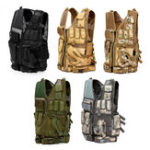 New Multifunctional Outdoor Hunting Tactical Vest CS Military Protective Armor With Holster