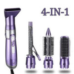 New 4 In 1 Multifunctional Hair Dryer Brush