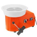 New 350W Pottery Wheel Detachable Ceramic Machine Ceramic Work Clay Craft Art W/ Foot Pedal