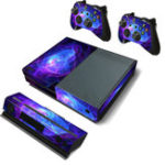New Purple Protective Vinyl Decal Skin Stickers Wrap Cover For Xbox One Game Console Game Controller Kinect