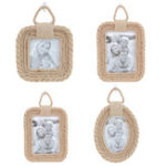New Twine Vintage Photo Frame Home Decor Wedding Hemp Rope Pictures Frames Accessories