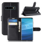 New PU Leather Wallet Kickstand Flip Protective Case For Samsung Galaxy S10 6.1 Inch