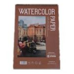 New Yixin 8K Line Ring Watercolor Coarse-Grain Fashion Creative Pure Wood Pulp 300 Gram Watercolor Painting Paper