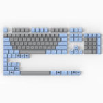 New Maxkey 127 Key Blue Gray SA Profile ABS Keycaps Keycap Set for Mechanical Keyboard