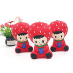 New Squishy Strawberry Princess 10CM Slow Rising Rebound Jumbo Toys With Packaging Gift Decor